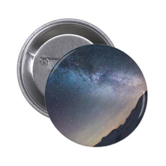 Galaxia Pin Redondo De 2 Pulgadas