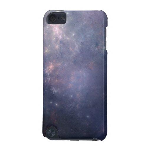 Galaxia púrpura con las estrellas