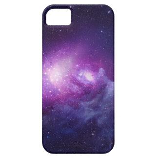 Galaxia púrpura iPhone 5 carcasa