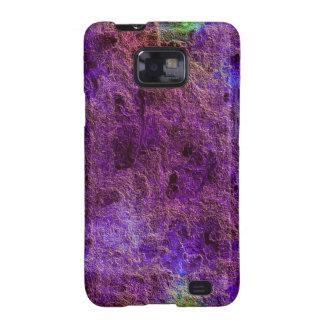 Galaxia púrpura violeta abstracta S2 de Samsung de Galaxy S2 Fundas