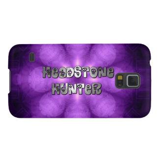 Galaxia púrpura y de plata 5S del cazador de la Fundas Para Galaxy S5