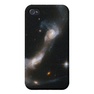 Galaxia que obra recíprocamente UGC 8335 de Hubble iPhone 4 Carcasa