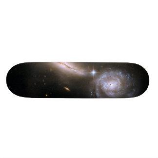 Galaxia que obra recíprocamente UGC 9618 de Hubble Patines
