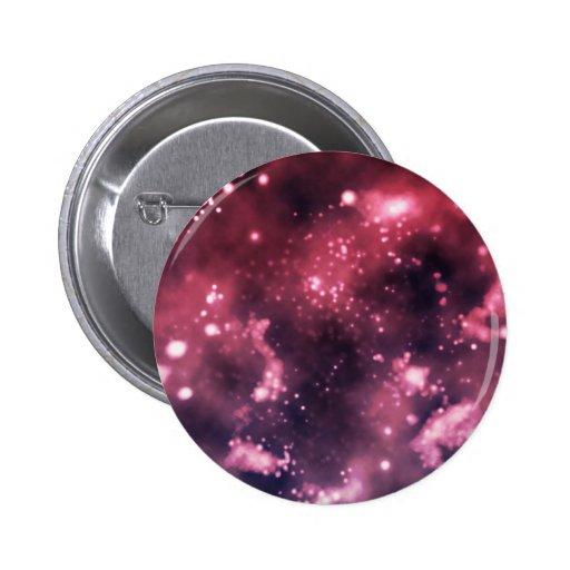 Galaxia reflexionada sobre pin