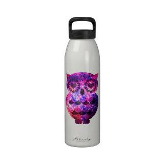 Galaxia retra femenina de la nebulosa del trullo d botella de beber