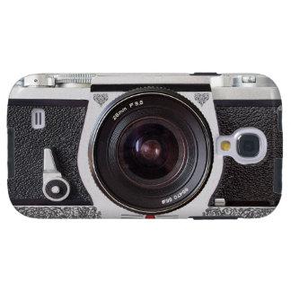 Galaxia retra S4 de FX de la voluta de la cámara Funda Para Galaxy S4