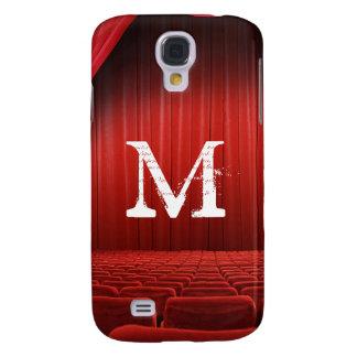 Galaxia roja S4 de Samsung del monograma del