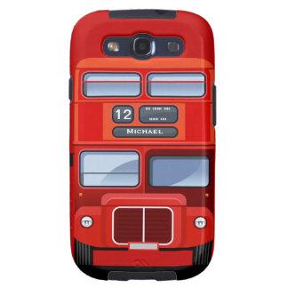 Galaxia roja vieja S3 de Samsung del autobús del a Galaxy SIII Cobertura