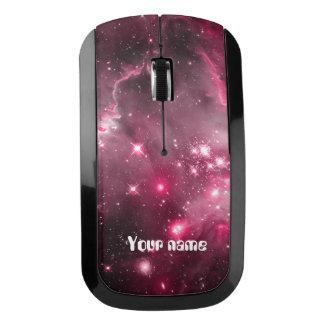 Galaxia rosada de la nebulosa ratón inalámbrico