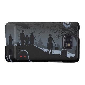 Galaxia S2 de Samsung del cementerio del zombi Samsung Galaxy SII Carcasa