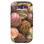 Galaxia S3, caja de Samsung de los chocolates del  Galaxy SIII Coberturas