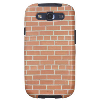 Galaxia S3 de Samsung de la pared de ladrillo Galaxy SIII Cárcasas