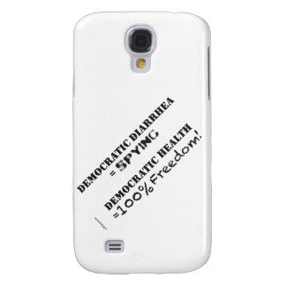 Galaxia S4 case2 (diarrea de la libertad de la lib Funda Para Galaxy S4