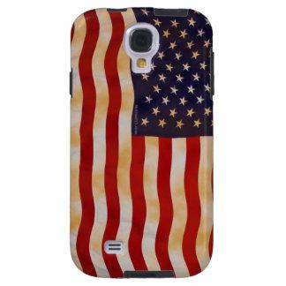 Galaxia S4 de Samsung de la bandera americana 13 d Funda Para Galaxy S4