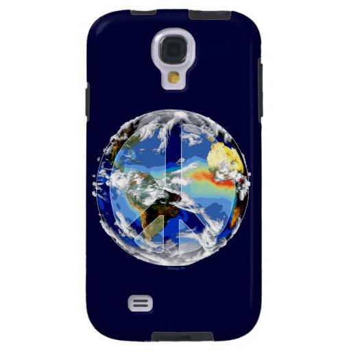 Galaxia S4 de Samsung de la paz de mundo