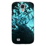 Galaxia S4 de Samsung de los pescados del negro az