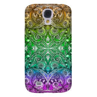 Galaxia S4 de Samsung que dibuja Zentangle floral