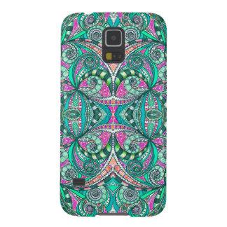Galaxia S5 de Samsung que dibuja Zentangle floral