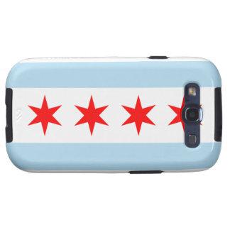 Galaxia S de Samsung de la bandera de Chicago Galaxy SIII Protector