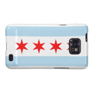 Galaxia S de Samsung de la bandera de Chicago Galaxy SII Carcasas