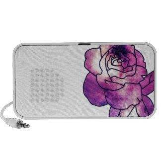 Galaxia subió iPod altavoces