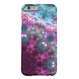 galaxia trippy funda de iPhone 6 barely there