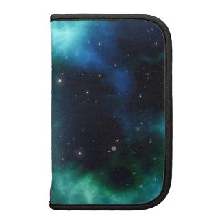 Galaxia verde clara planificadores