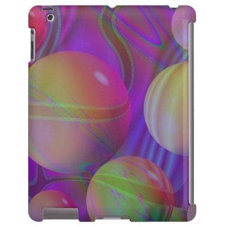 Galaxia violeta abstracta del fractal del añil del
