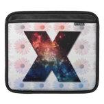 Galaxia X y modelo de la margarita Fundas Para iPads