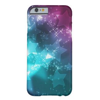 galaxia y estrellas funda de iPhone 6 barely there