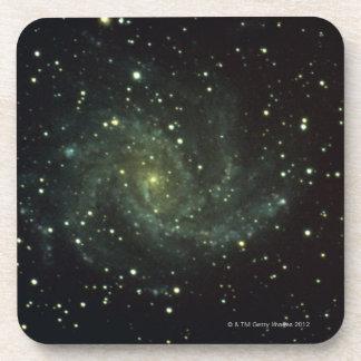 Galaxia y estrellas posavaso