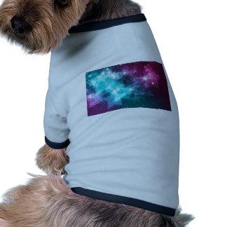 galaxia y estrellas prenda mascota