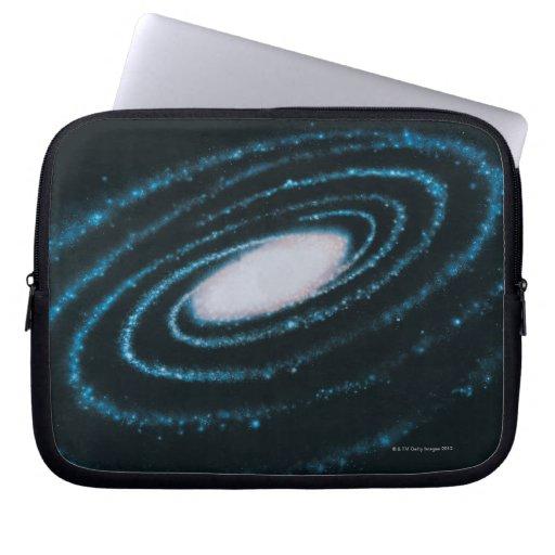 Galaxias activas mangas portátiles