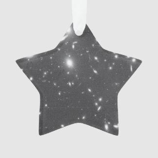 Galaxias alejadas Aparecer torcido y hecho fragmen