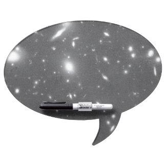 Galaxias alejadas Aparecer torcido y hecho Pizarras