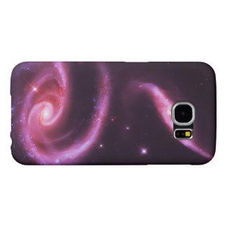 Galaxias color de rosa rosadas funda samsung galaxy s6