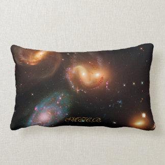 Galaxias de la estrella del espacio profundo del cojín