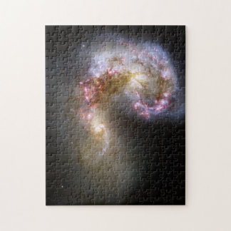 Galaxias de las antenas rompecabeza con fotos