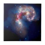 Galaxias de las antenas - supernovas y calabozos tejas  cerámicas