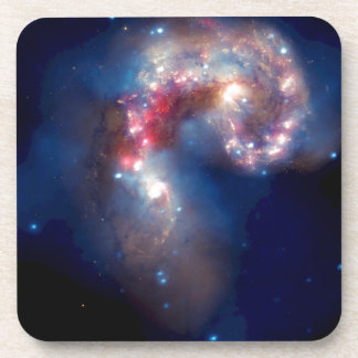 Galaxias de las antenas - supernovas y calabozos posavasos de bebida