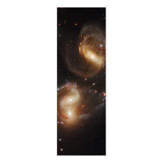 Galaxias del quinteto de Stephan (telescopio de Plantilla De Tarjeta Personal