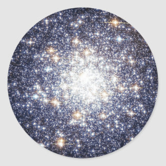 Galaxias del racimo el universo de sir Douglas Pegatinas Redondas
