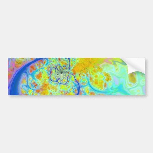 Galaxias emergentes - corrientes del trullo y de pegatina para auto
