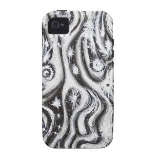 Galaxias espirales abstractas (modelo del surreali iPhone 4/4S funda