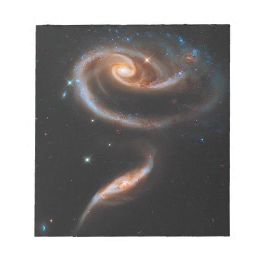 Galaxias que obran recíprocamente Arp 273 UGC 1810 Bloc