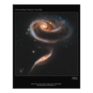 Galaxias que obran recíprocamente Arp 273 UGC 1810 Cojinete