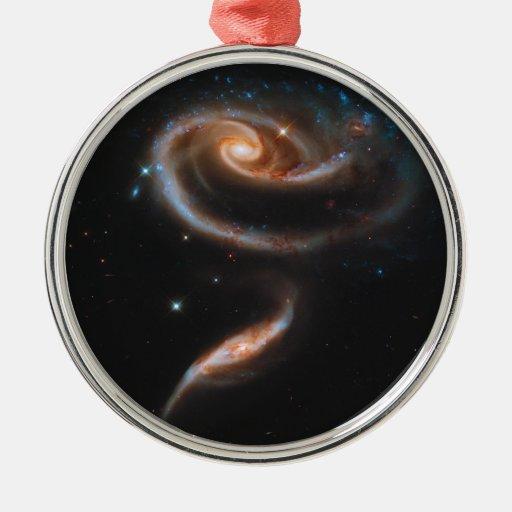 Galaxias que obran recíprocamente Arp 273 UGC 1810 Adorno De Navidad