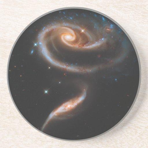 Galaxias que obran recíprocamente Arp 273 UGC 1810 Posavasos Para Bebidas