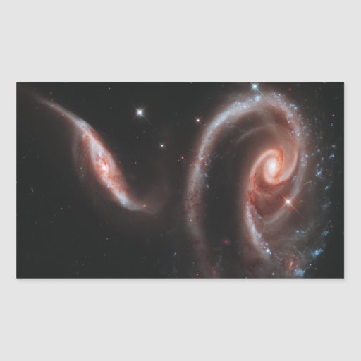 Galaxias que obran recíprocamente del Arp 273 Rectangular Altavoces