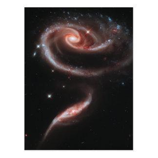 Galaxias que obran recíprocamente del Arp 273 Tarjetas Postales